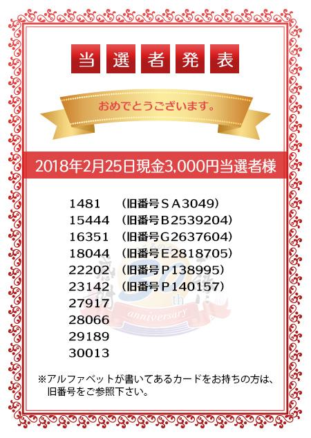 20180225_B賞当選者発表